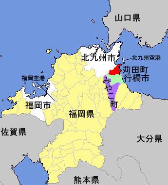 kanda-town-map