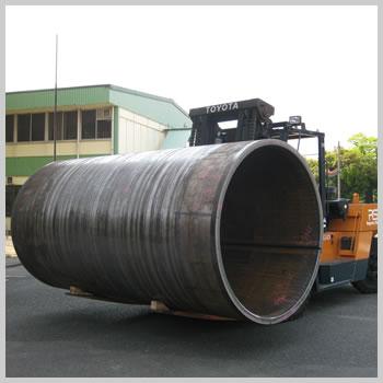 構造用鋼管の写真